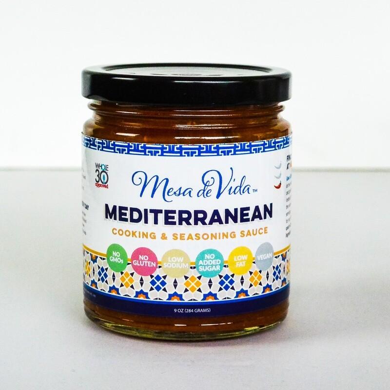 Mediterranean Recipe Starter and Seasoning Sauce