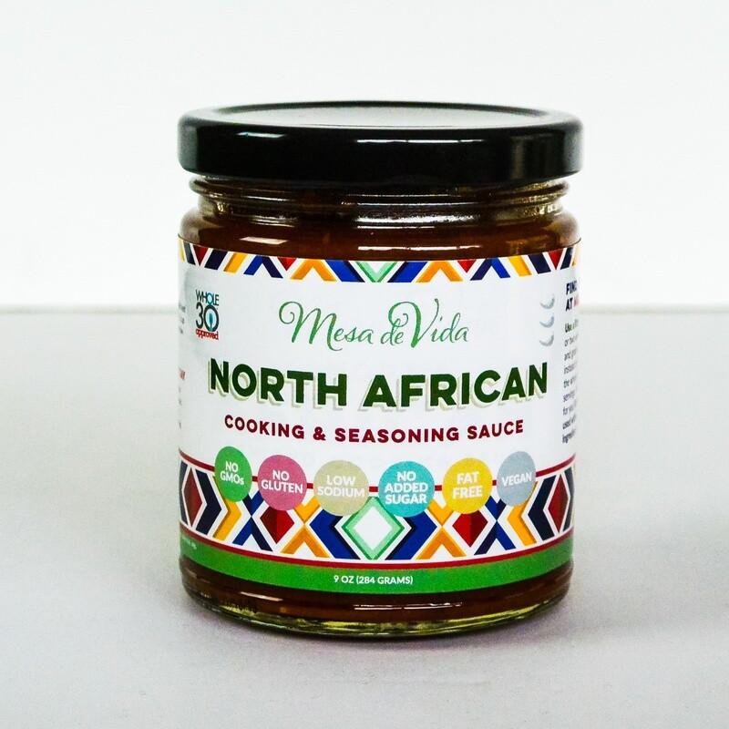 North African Recipe Starter and Seasoning Sauce
