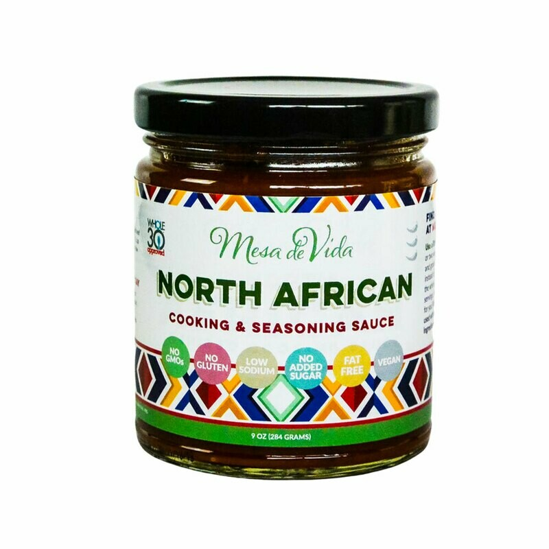 North African Recipe Starter and Seasoning Sauce