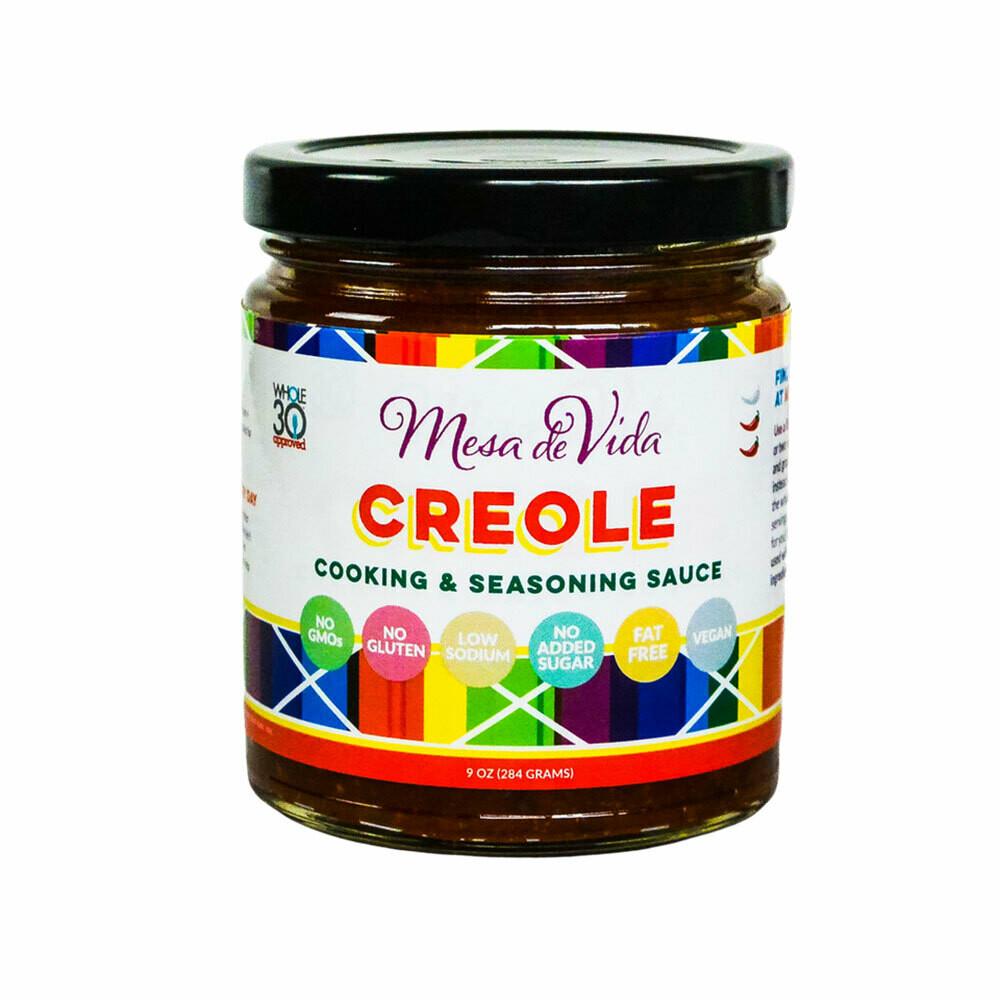 Creole Recipe Starter and Seasoning Sauce