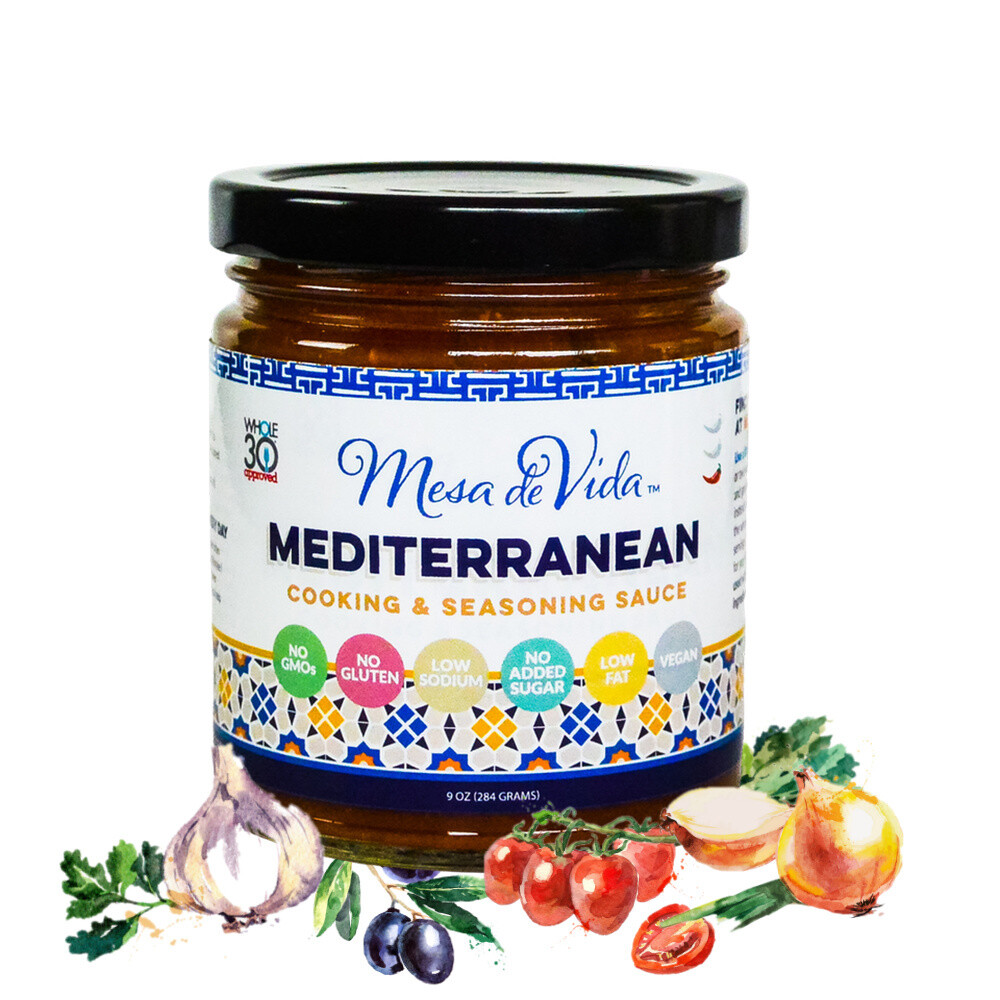 Mediterranean Recipe Starter and Cooking Sauce