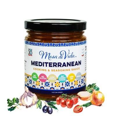Mediterranean Recipe Starter and Cooking Sauce