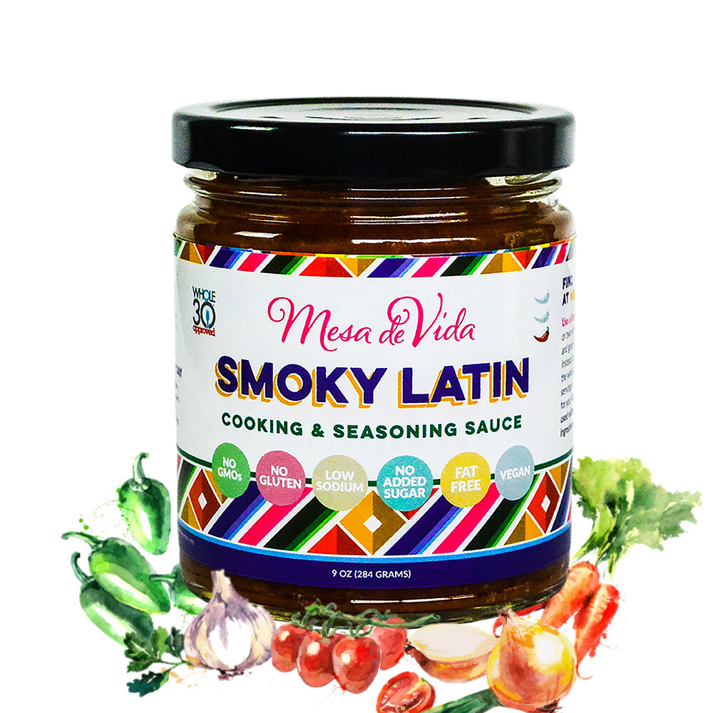 Smoky Latin Recipe Starter and Cooking Sauce