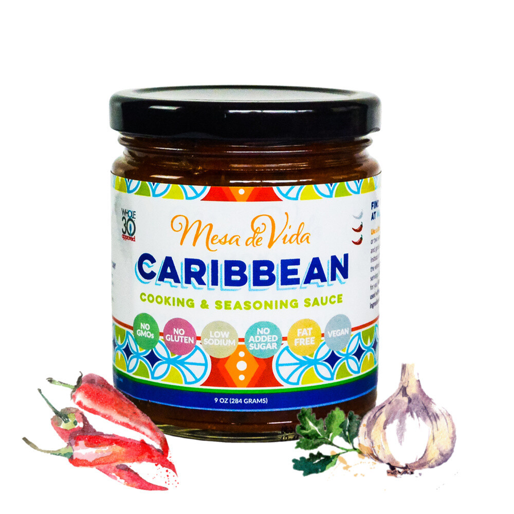 Caribbean Recipe Starter and Cooking Sauce