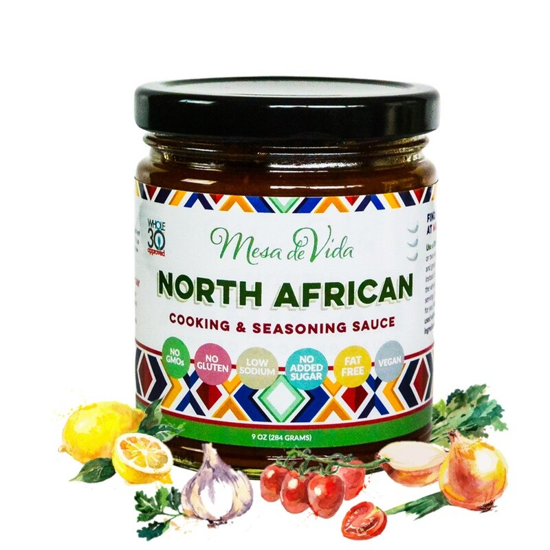 North African Recipe Starter and Cooking Sauce