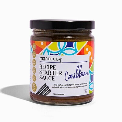 Caribbean Flavor Recipe Starter and Cooking Sauce