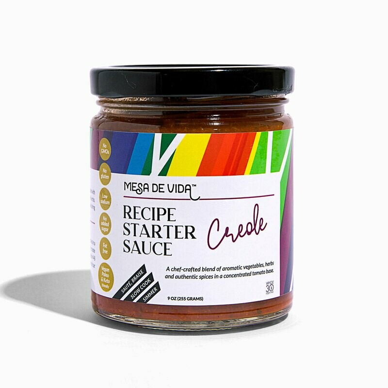Creole Flavor Recipe Starter and Cooking Sauce