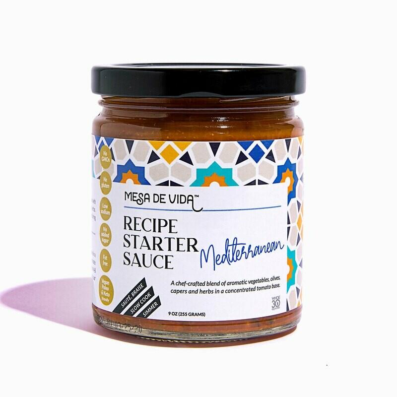 Mediterranean Flavor Recipe Starter and Cooking Sauce