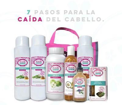 7 PASOS PARA LA CAÍDA DEL CABELLO