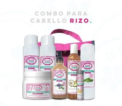 COMBO PARA CABELLO RIZOS