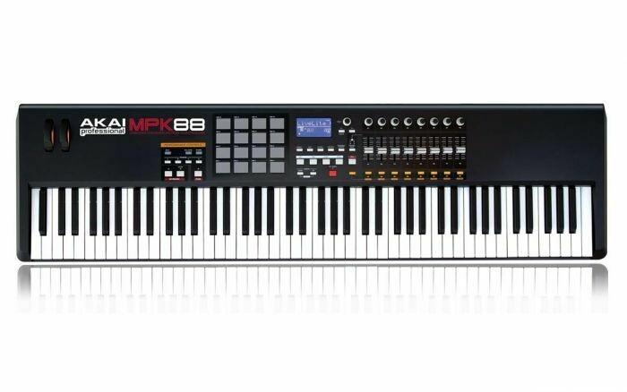 Controlador Profesional USB/MIDI, de 88 Teclas, Akai. Mod. MPK88