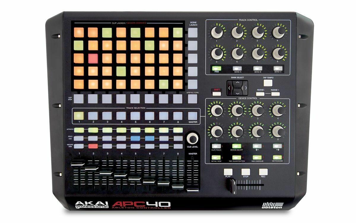 Controlador Profesional USB/MIDI para Ableton Live, Akai. Mod. APC40