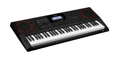 Teclado Portátil, 61 Teclas, USB/MIDI, Casio, Mod. CT-X3000A