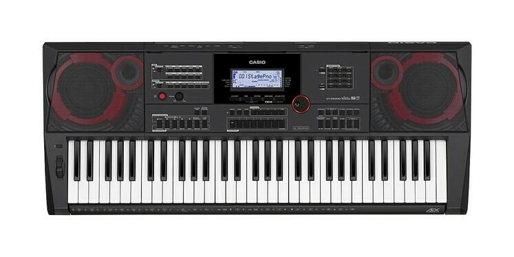 Teclado Portátil, 61 Teclas, USB/MIDI, Casio, Mod. CT-X5000
