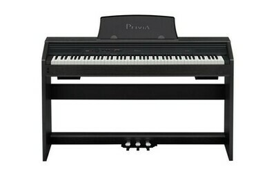 Piano Digital, 88 Teclas, USB/MIDI, Casio, Mod. PX-760 BK