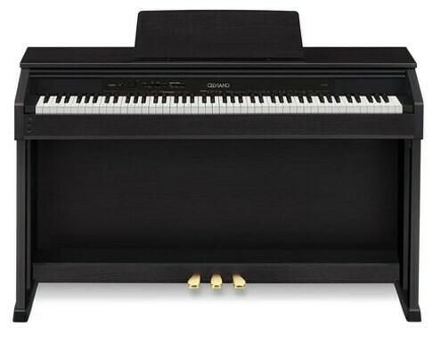 Piano Digital Celviano, 88 Teclas, Casio, Mod. AP-460 BK