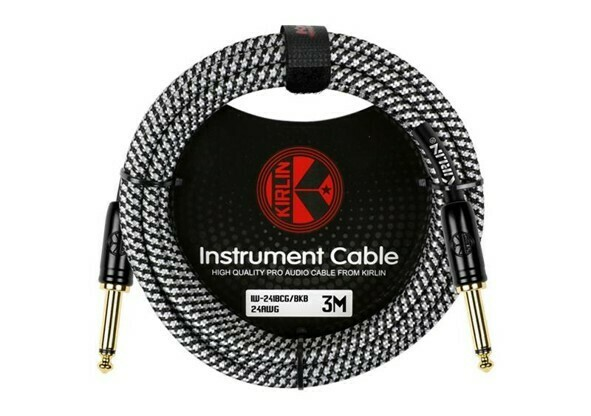Cable Profesional para Inst 3 metros, Kirlin, Mod. IW-241BCG/BKB 10FT