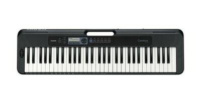 Teclado Portátil, Serie Casiotone, 61 Teclas, USB, Casio, Mod. CT-S300