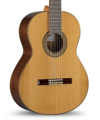 Guitarra Clásica de Estudio, Fabricación Española, Ziricote y Cedro, Alhambra. Mod. IB ZIRICOTE