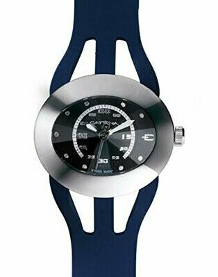 Swisspace S908LNN07 - Orologio da polso da uomo, cinturino in plastica colore blu