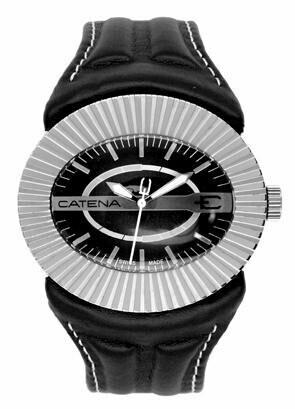 Swisspace S918LNQ61 - Orologio da polso da uomo, cinturino in pelle colore nero
