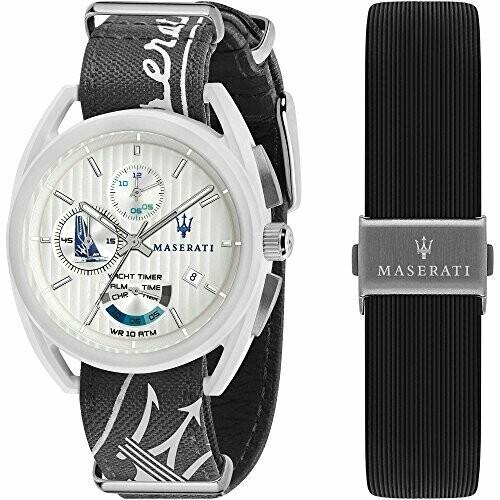orologio cronografo uomo Maserati Trimarano trendy cod. R8851132002