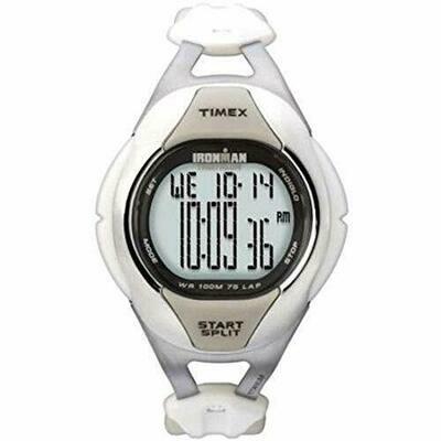 Timex T5K034 - Orologio da polso da donna, cinturino in resina colore fucsia