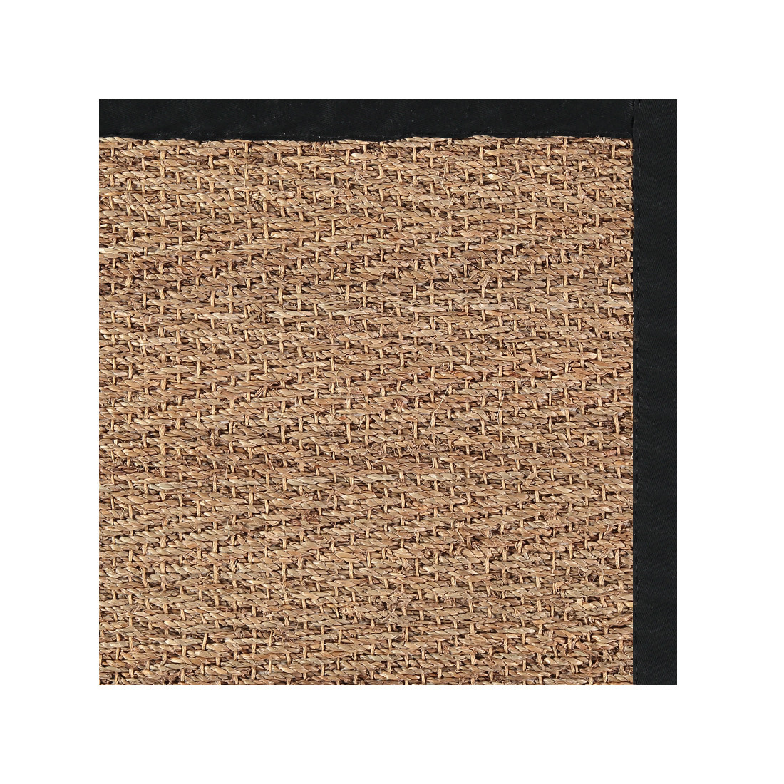 Herringbone Waxed Seagrass Rug