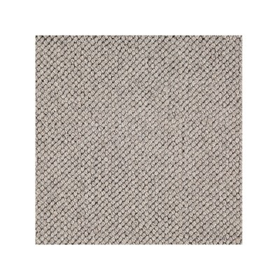 Yale -  Wool & Viscose Blend Hand Loomed Loop Pile - Grey