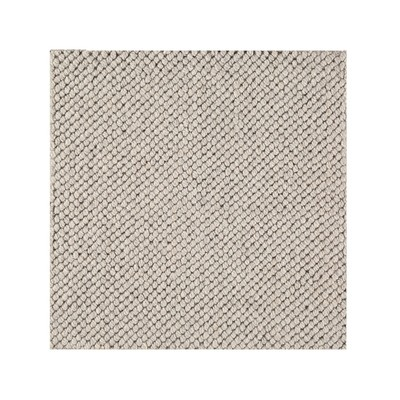 Yale  - Wool & Viscose Blend Hand Loomed Loop Pile - Sand