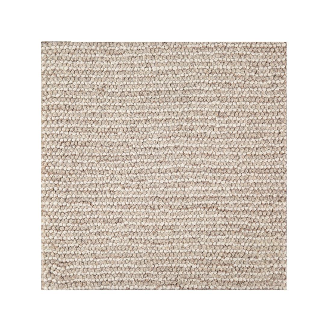 Manhattan  -  100% Wool Loop Pile Handmade -  Beige