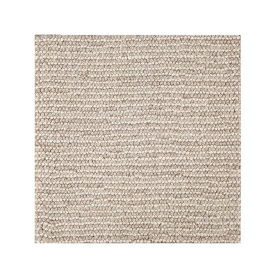 Manhattan  -  100% Wool Loop Pile Handmade -  Beige