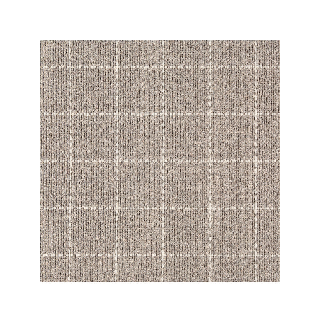 Library - 100% Woven Wool Hand Loomed - Pewter