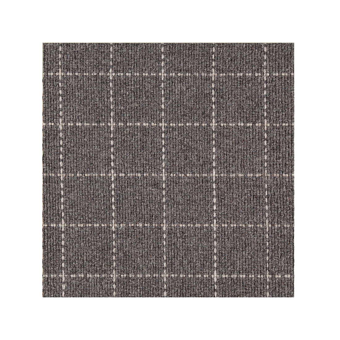 Library - 100% Woven Wool Hand Loomed  - Coal