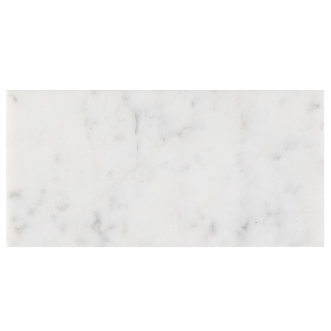 Carrara Marble Honed Subway 150 x 75mm