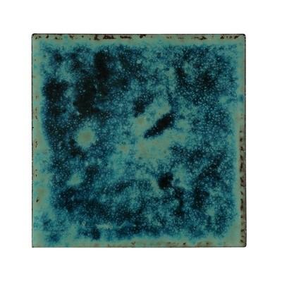 Murano Turquoise/Navy 150 x 150mm