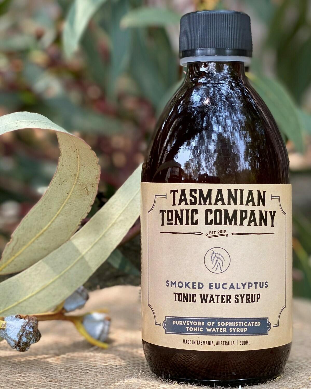 Smoked Eucalyptus Tonic Water Syrup