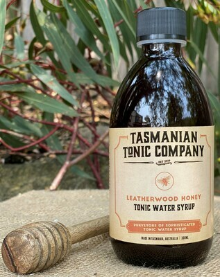 Leatherwood Honey Tonic Water Syrup