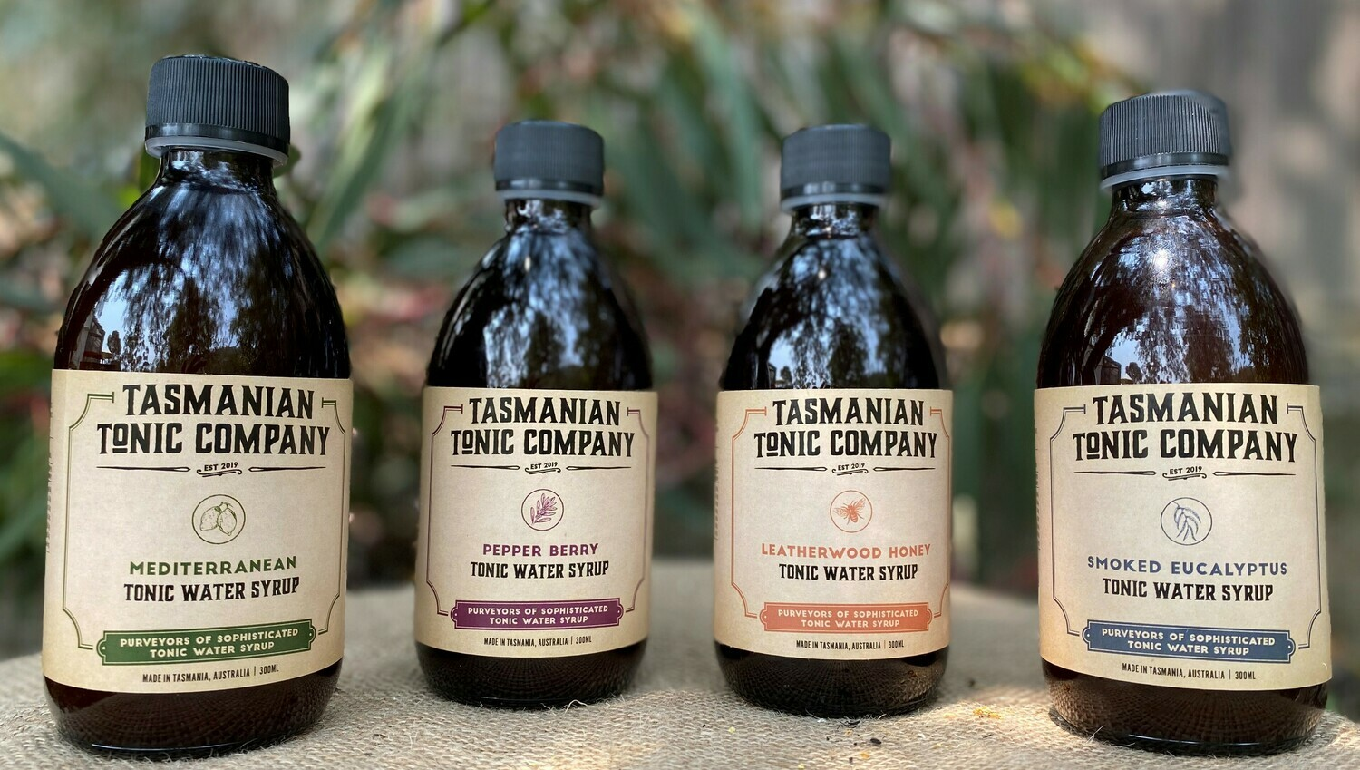 All Four Tonics - Shipping Included!