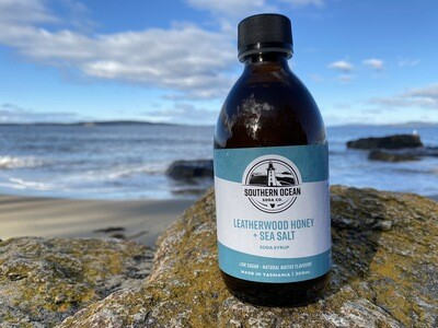 Leatherwood Honey and Sea Salt Soda Syrup