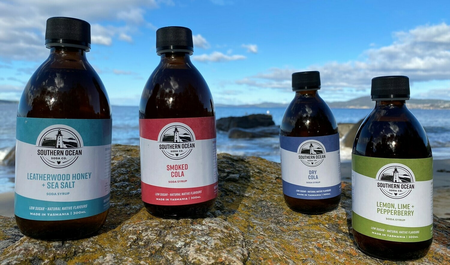 All Four Soda Syrups - Shipping Included!