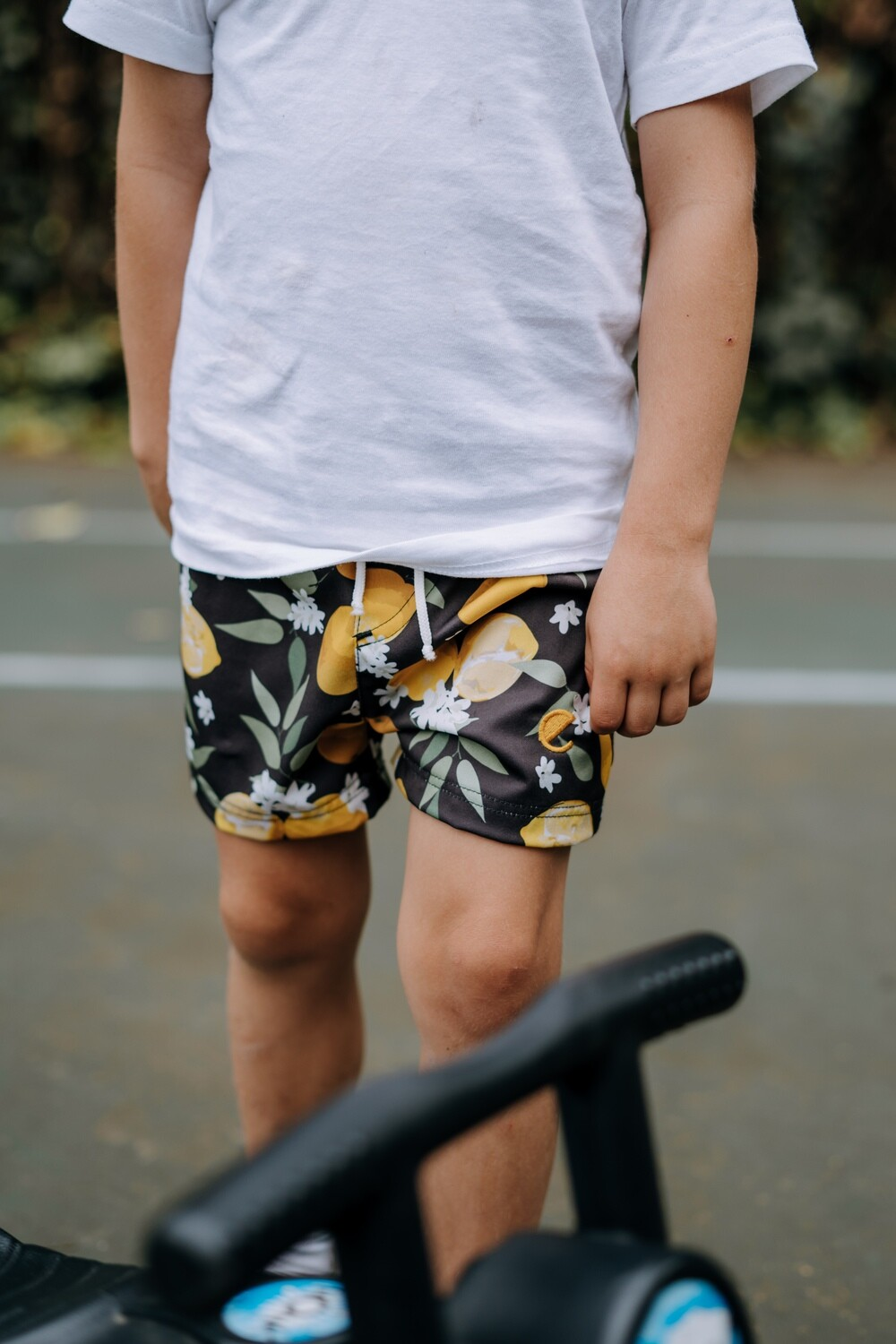 lemon blossom boys shorts