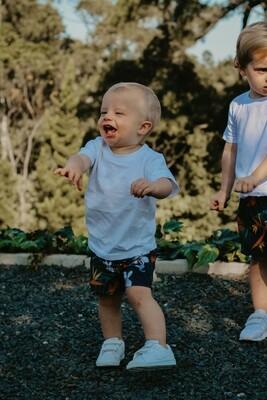 tropical kids loose shorts