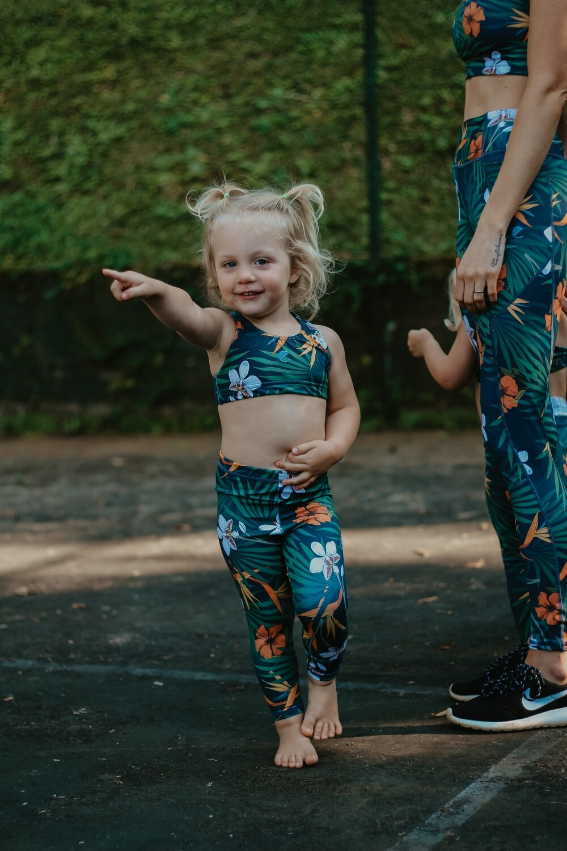 tropical girls tights (long)