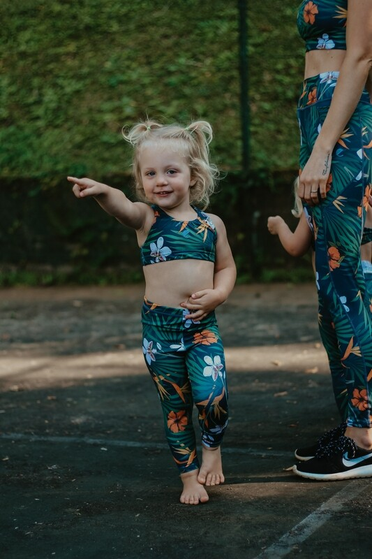 tropical kids tights (long)