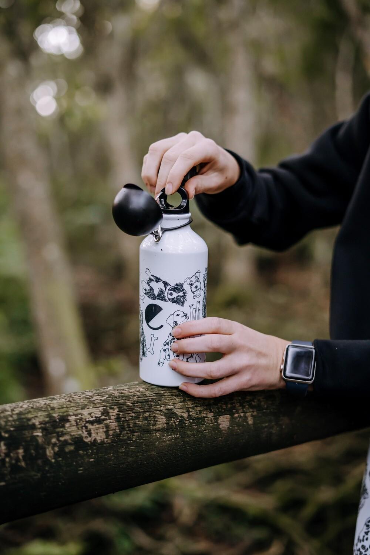 SPCA tin water bottle
