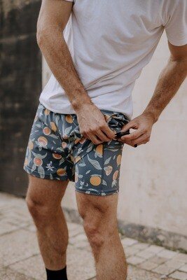 mens grapefruit shorts
