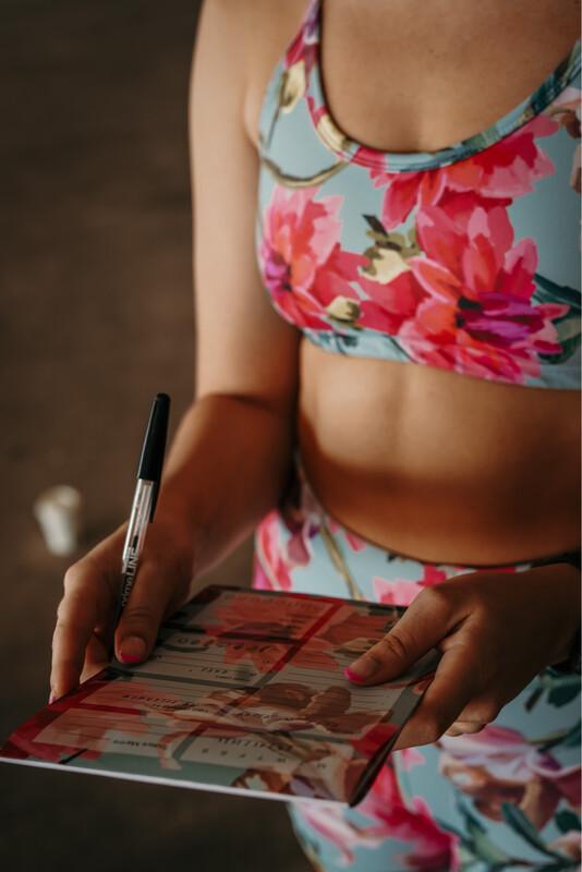 wellness notepad