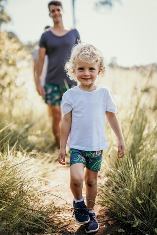 hadeda kids short tights