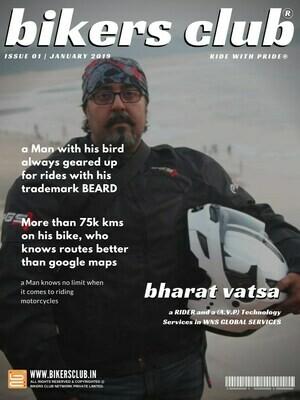 BIKERS CLUB-e-magazine-jan 2019-Bharat Vatsa